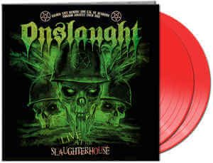 Onslaught - Live At The Slaughterhouse (Double Red LP)