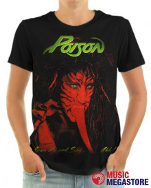 Poison - Open Up T-Shirt