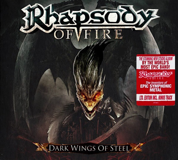 Rhapsody Of Fire Dark Wings Of Steel Digipack Cd