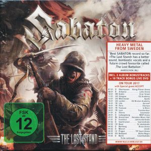 Sabaton - The Last Stand (Digibook CD)