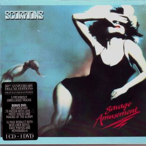 Scorpions ‎– Savage Amusement (Digipack CD & DVD)