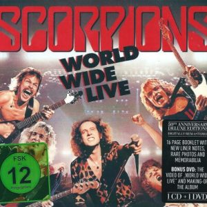 Scorpions ‎– World Wide Live (Digipack CD & DVD)