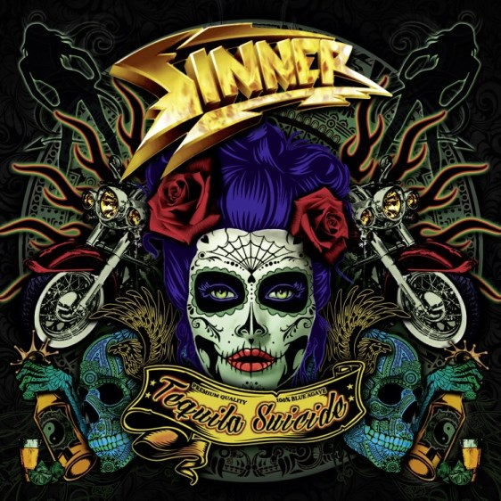 Sinner - Tequila Suicide (Green Clear LP)