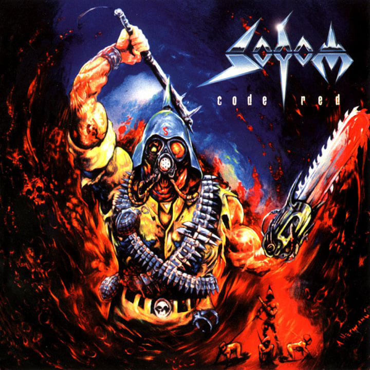 Sodom - Code Red (Jewel Case CD)