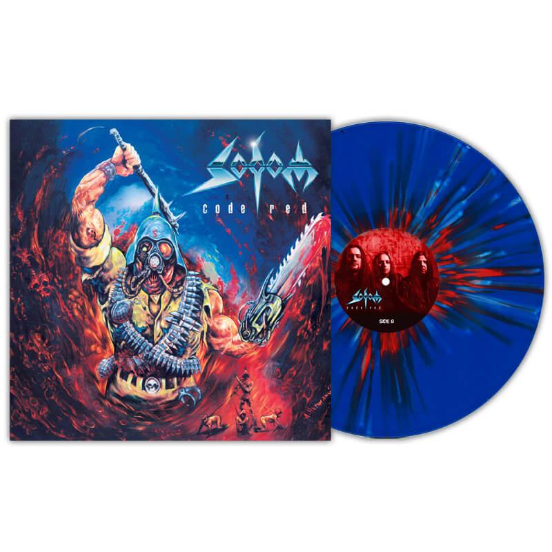 Sodom - Code Red (Blue / Red / White Splatter LP)