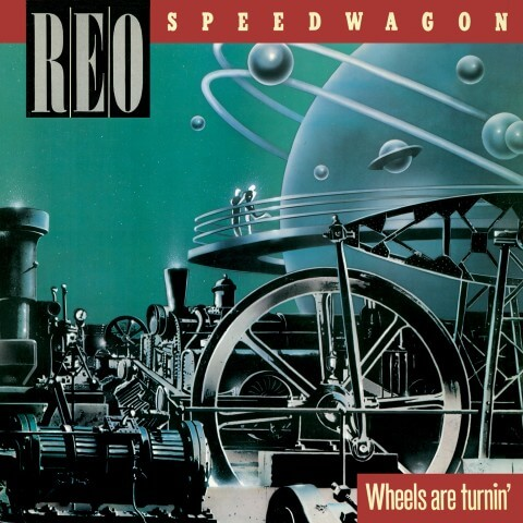 REO Speedwagon - Wheels Are Turnin' (Jewel Case CD)