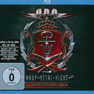 U.D.O. ‎– Navy Metal Night (Feat. The Marinemusikkorps Nordsee) (Digipack Double CD & Bluray)