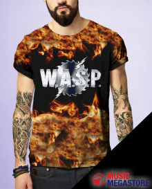 W.A.S.P. - Babylon In Flames T-Shirt