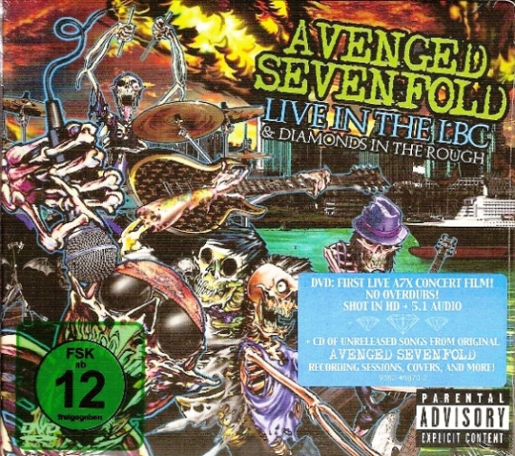cd avenged sevenfold live in the lbc dvd udio