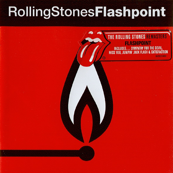 Rolling Stones Flashpoint Jewel Case Cd Music Megastore
